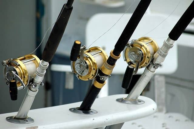 how to store fishing rods